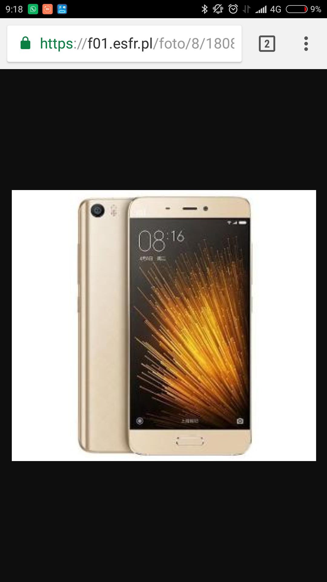 Xiaomi mi5 32GB złoty