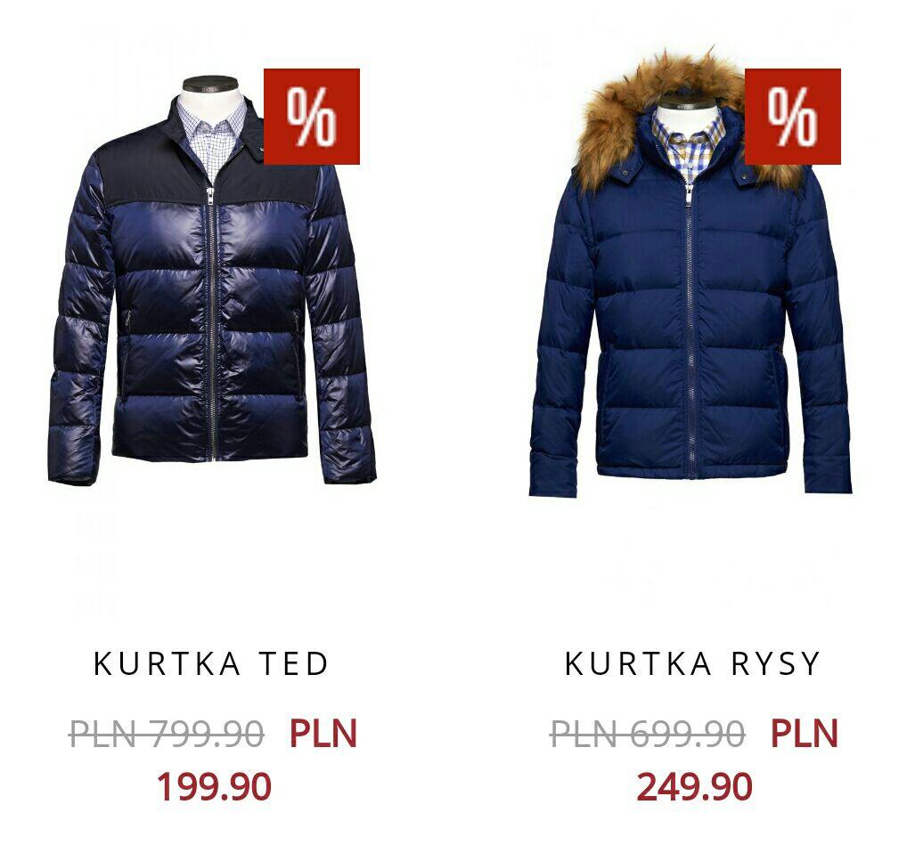 Bytom kurtki pikowane do - 75%