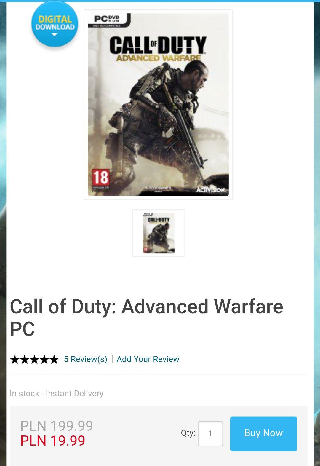 Call of Duty: Advanced Warfare  @Cdkeys
