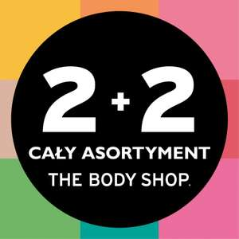 [Od 2 marca] 2+2 gratis na cały asortyment @ The Body Shop