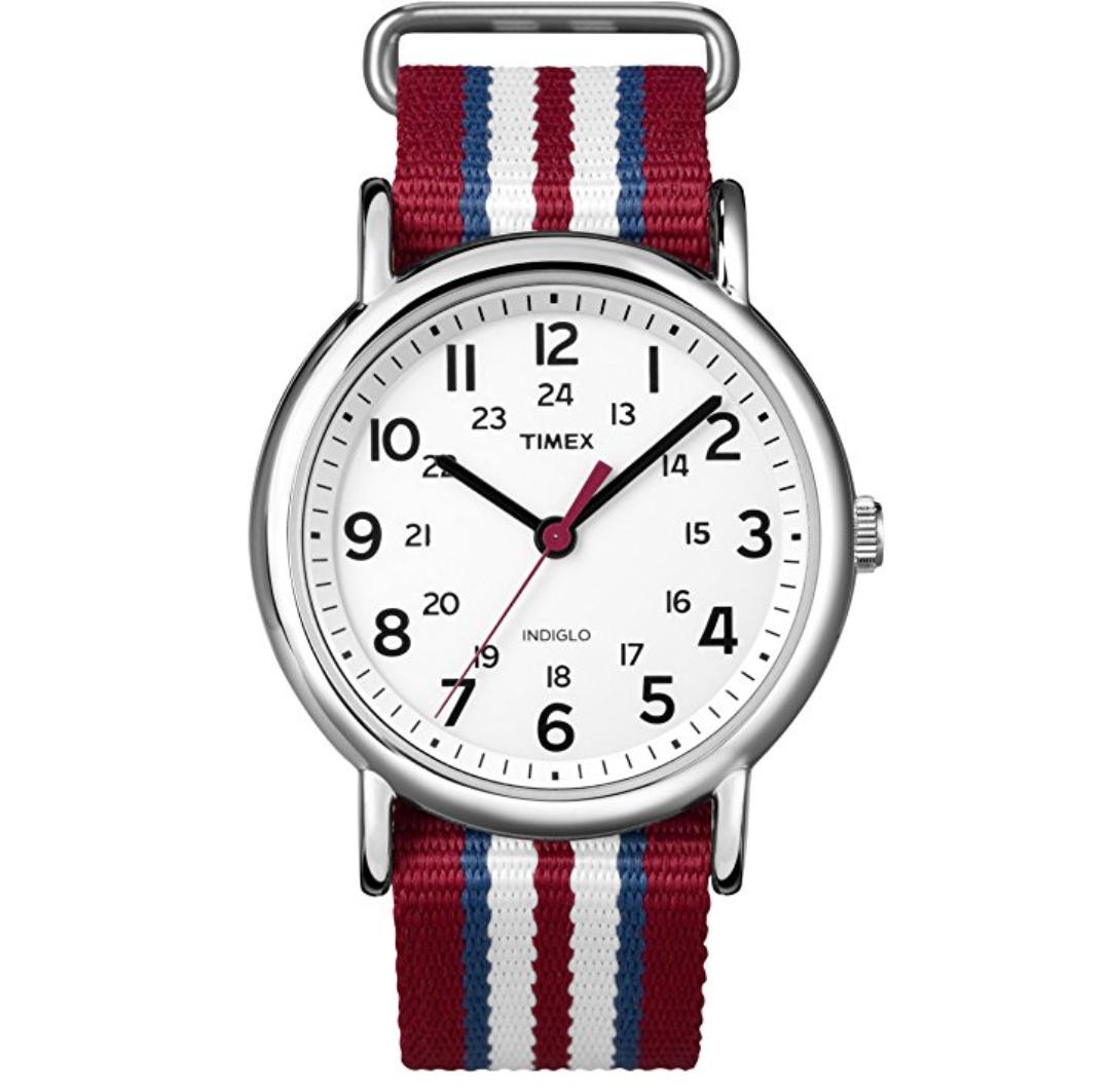 Klasyczny zegarek Timex Weekender w cenie 29€