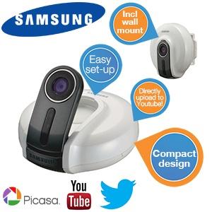 Kamera IP Samsung Smart Home za  239,90 zł @ Ibood.com