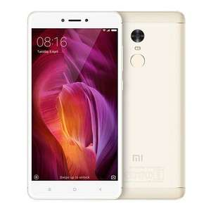 [Germany Stock][Official Global Version]Xiaomi Redmi Note 4 5.5 Inch 2.5D Arc Screen Snapdragon 625 Octa-core MIUI 8 4G LTE 3GB RAM 32GB ROM Smartphone 13.0MP Touch ID 4100mAh - Gold