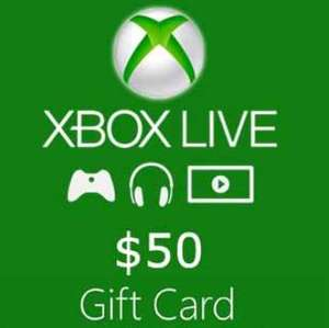 XBOX Live Gift Card NORTH AMERICA 50 USD Key