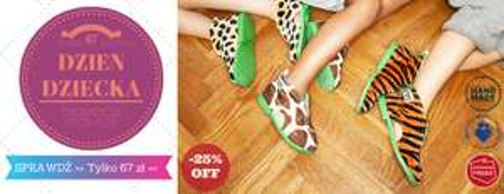 Oryginalne modele kapci Slippers Family taniej o 25% @ Slippers Family