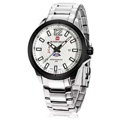 Zegarek Naviforce 9084 SILVER/WHITE