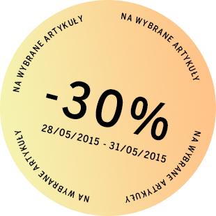 -30% na wybrane produkty @ Bershka