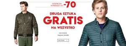 Druga sztuka GRATIS na wszystko @ Vistula