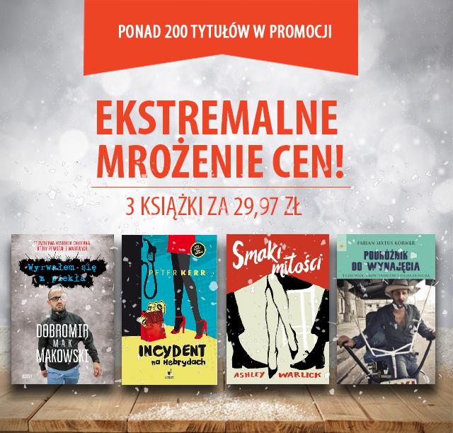 Trzy książki za 29,97zł @ Znak