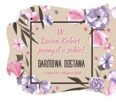 Darmowa dostawa do 8 marca @ Alles