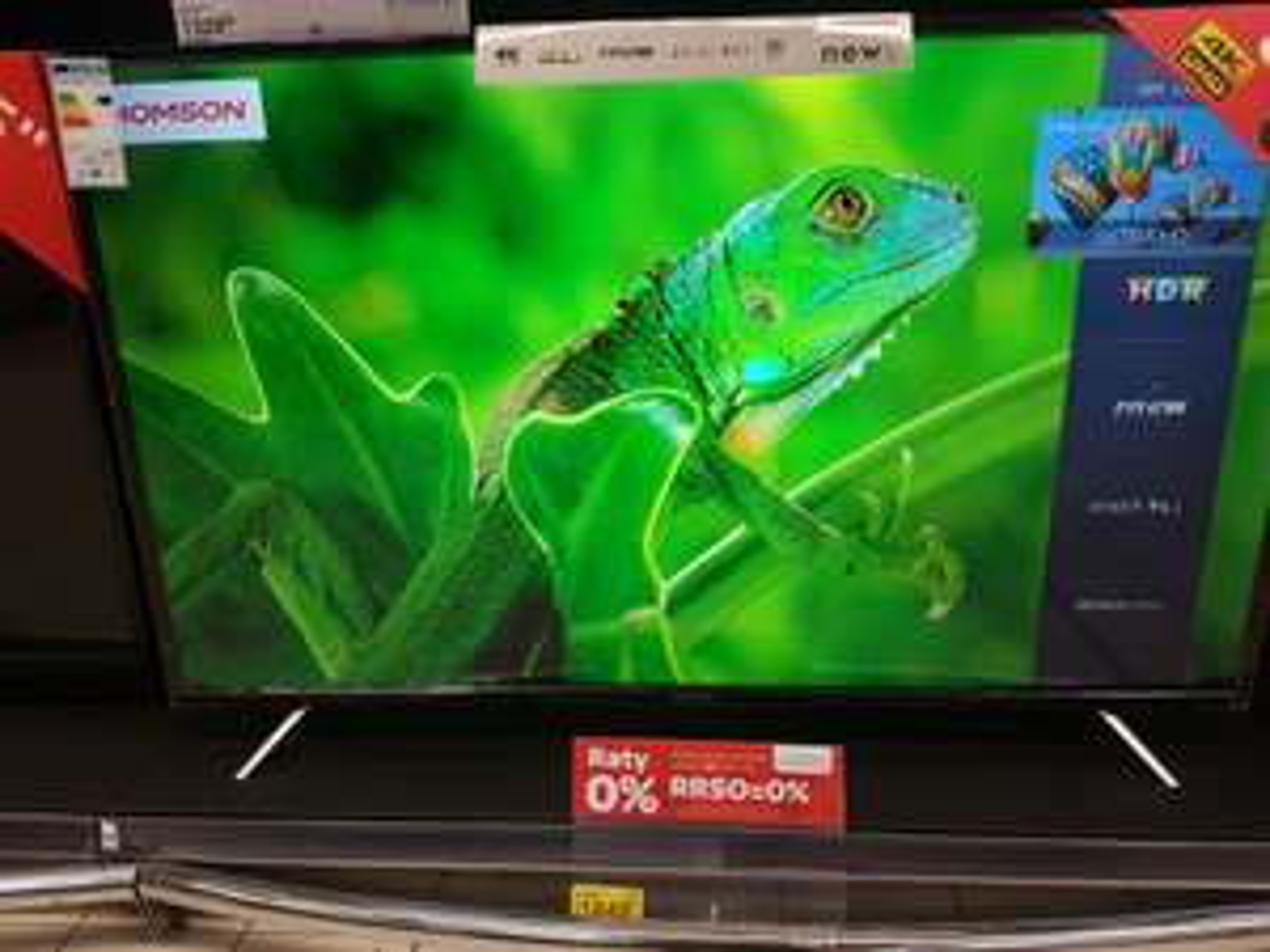 Telewizor Thomson 55cali UHD 4k HDR 55ut6006 netflix Carrefour