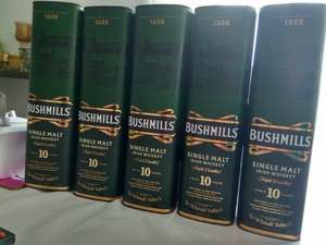 Whiskey Bushmills Single Malt 10 letnia