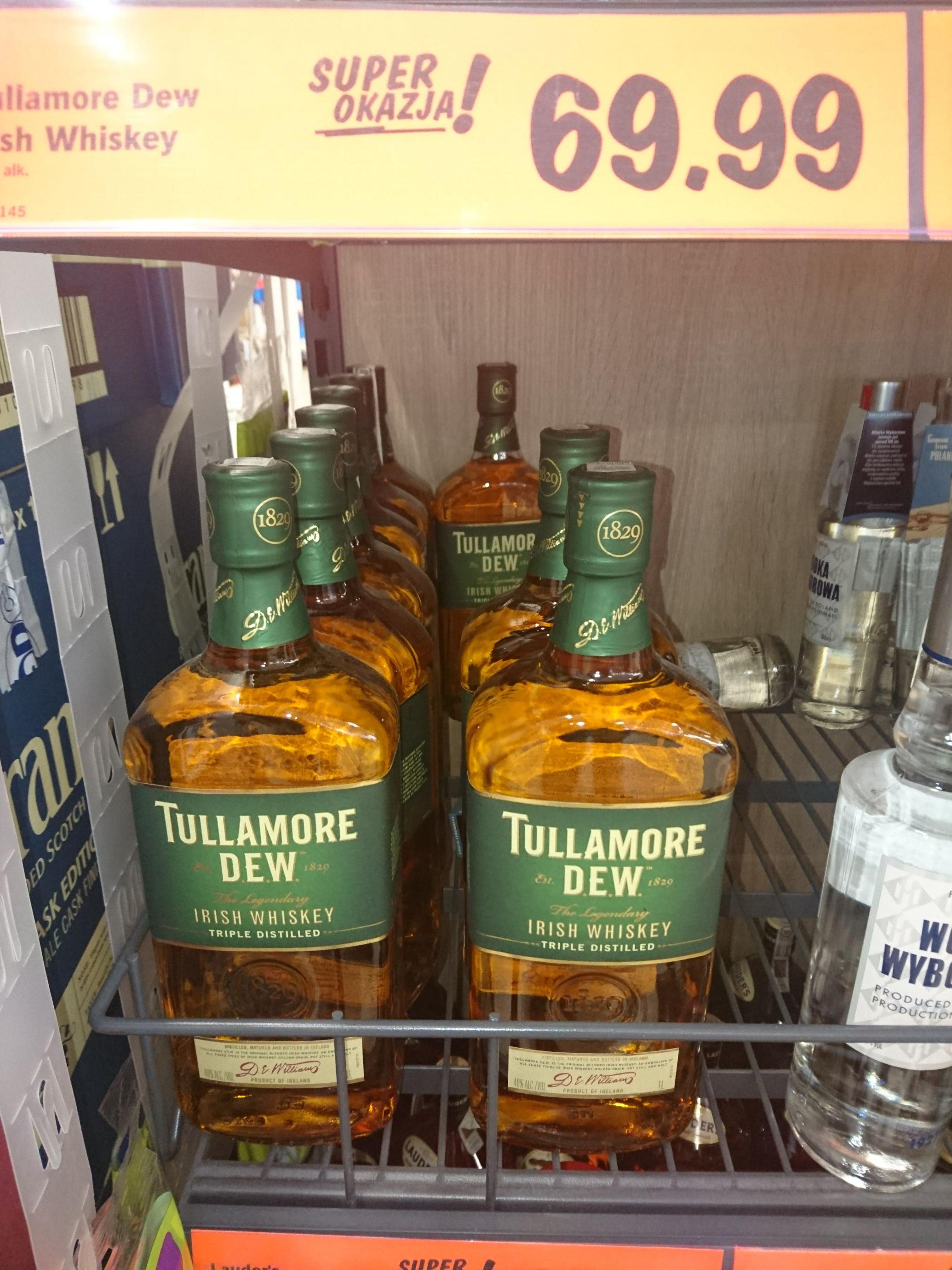 Lidl Whisky Tullamore Dew 1l