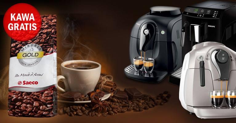 Do wybranych ekspresów Philips 1kg kawy GRATIS @ Redcoon