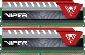Patriot Viper Elite Red 8GB [2x4GB 2400MHz DDR4 CL15