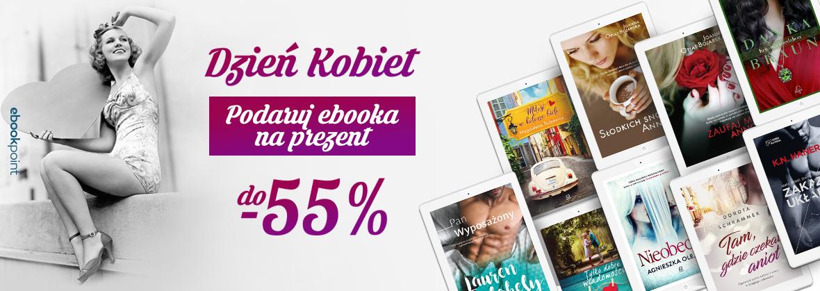 Ebooki na Dzień Kobiet do 55% taniej @ ebookpoint