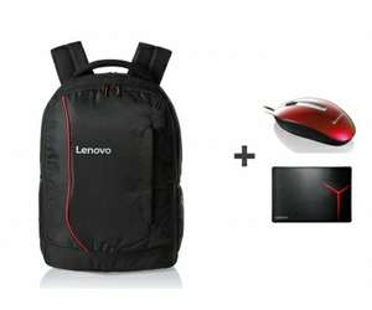Plecak Lenovo + myszka Lenovo + podkładka lenovo
