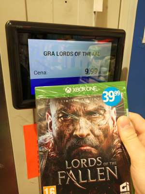 Lords of the fallen Xbox one biedronka