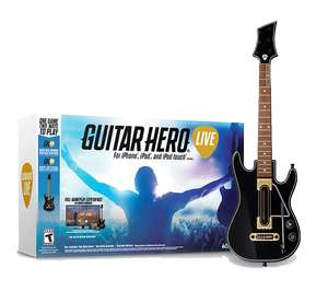 NOWA GITARA DO GUITAR HERO NA IOS (iPhone iPad iPod)  ZA 45ZŁ :)