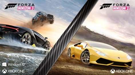Pakiet Forza Horizon 3 i Forza Horizon 2 za 1320RUB @MS store ru, potrzebny aktywny Xbox Live Gold