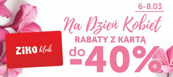 40% rabatu na wybrane marki dermokosmetyczne @ Apteka Ziko