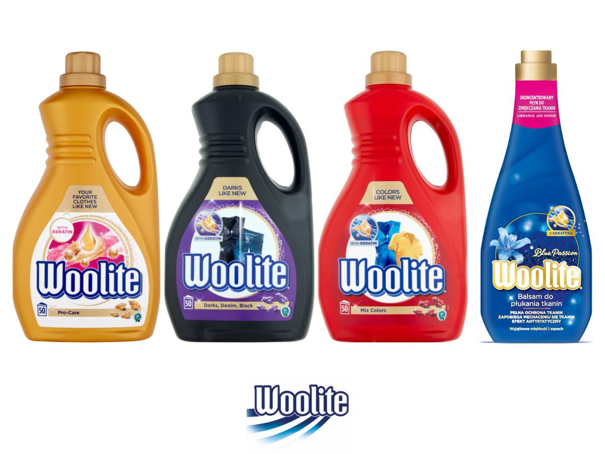 WOOLITE Płyn do prania 9l (3x3l)+ Balsam do płukania