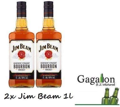 "Akcja ""stówka"" na Dzień Kobiet Jim Beam 2x1l @Gagalon"
