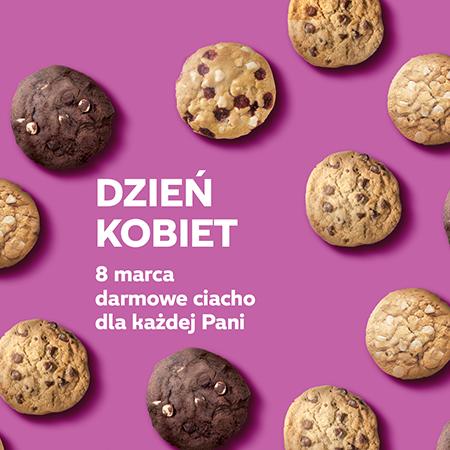 Dzień Kobiet - ciasteczko gratis dla każdej kobiety (nie trzeba nic kupować) @ Subway