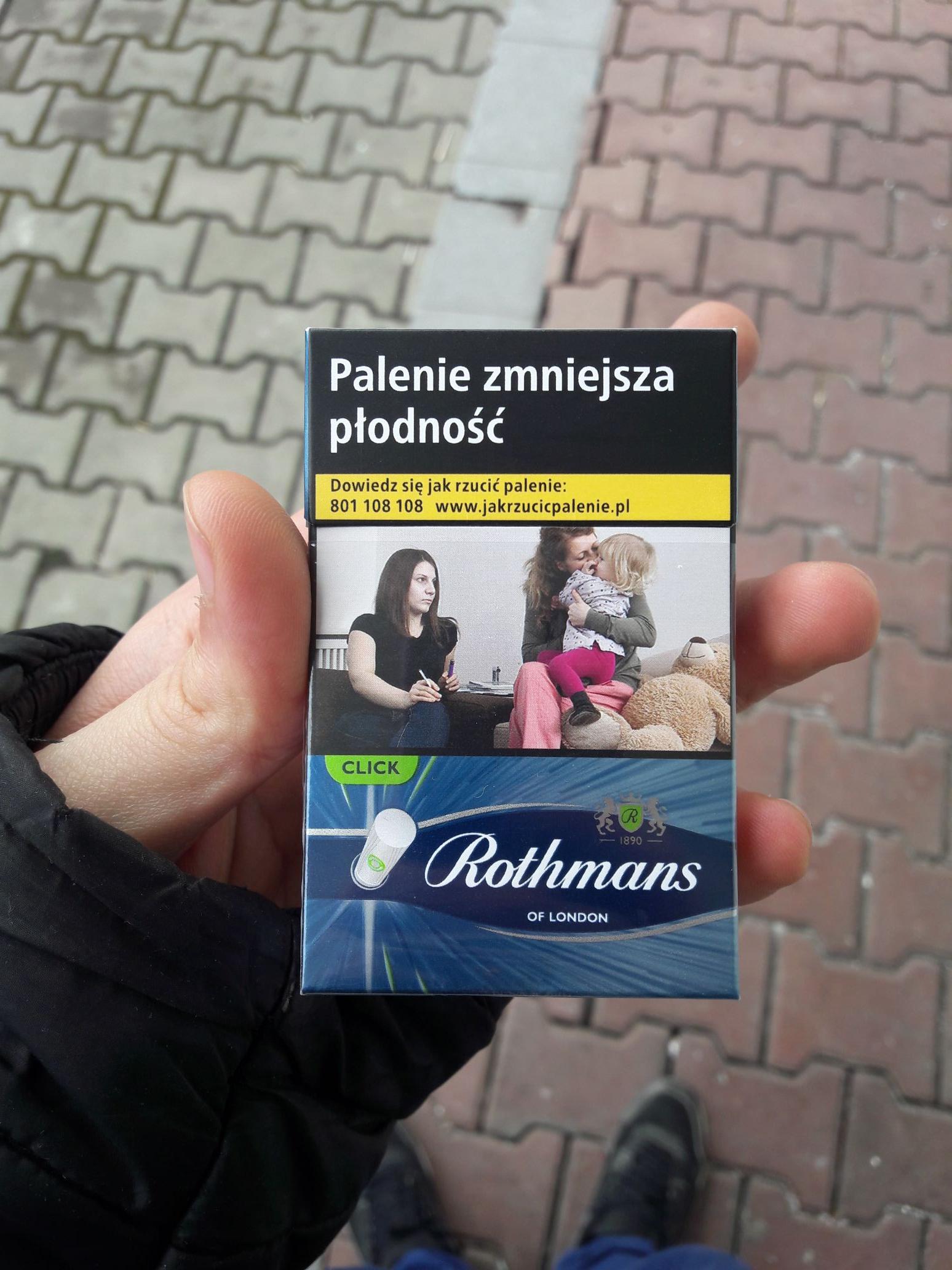 Fresh Market do fajek Rothmans click rabat 3 ziko na kolejne zakupy