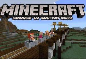 Minecraft Windows 10 Edition PC BETA - tanioszka