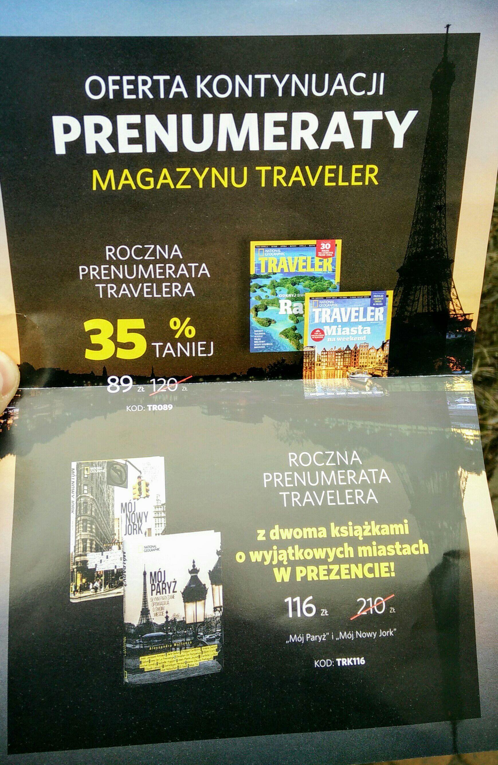 Prenumerata Traveler