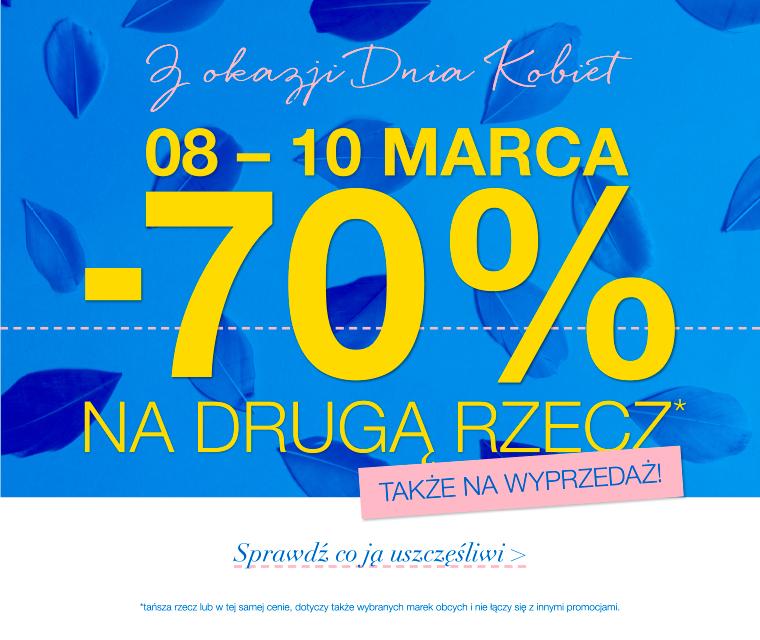 -70% na drugą rzecz (obejmuje przecenę) @ Home&You