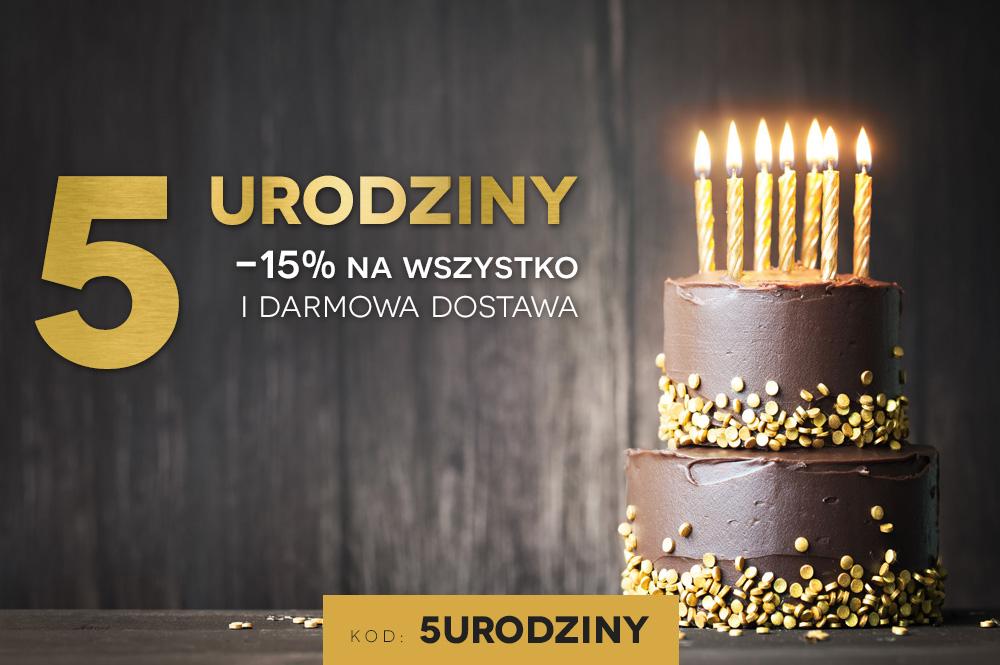 5 urodziny AKARDO.pl - 15% na wszystko + darmowa dostawa