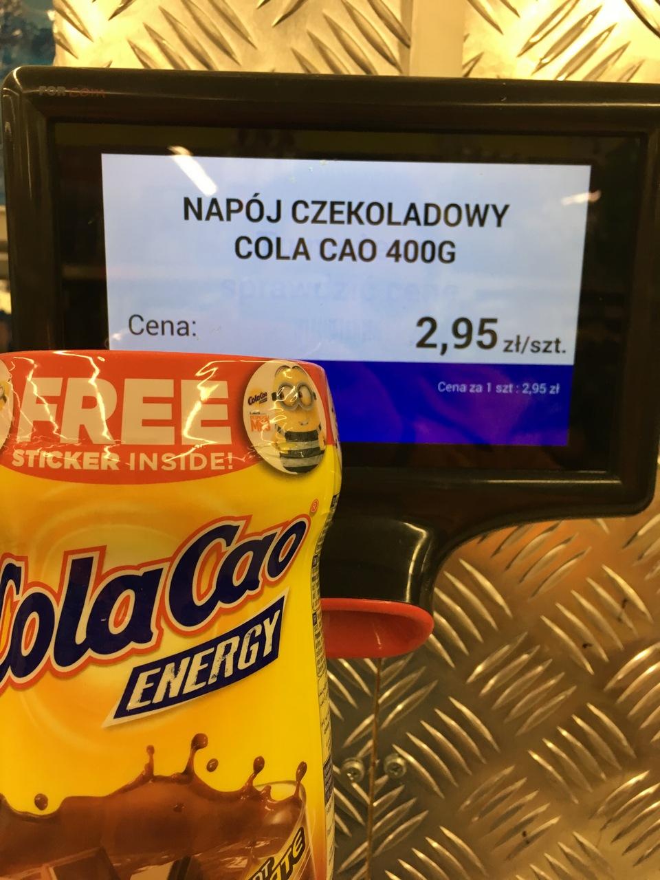 Cola Cao 400g w Biedronce (Wrocław)