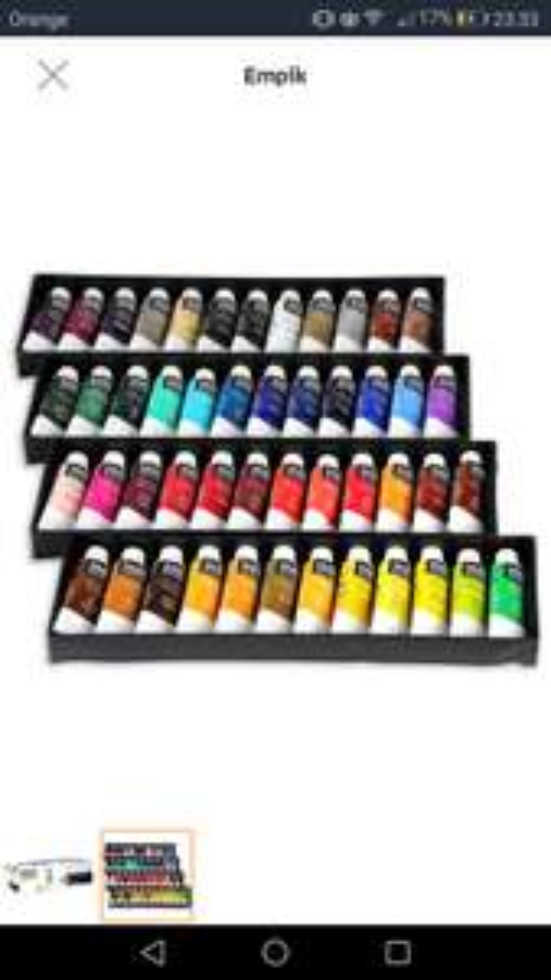Zestaw farb akrylowych - empik