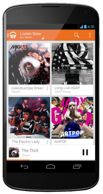 Muzyka Google Play 30 dni za darmo @ Google Play