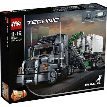 Z PL !! - Lego Technic Truck Mack Anthem 42078