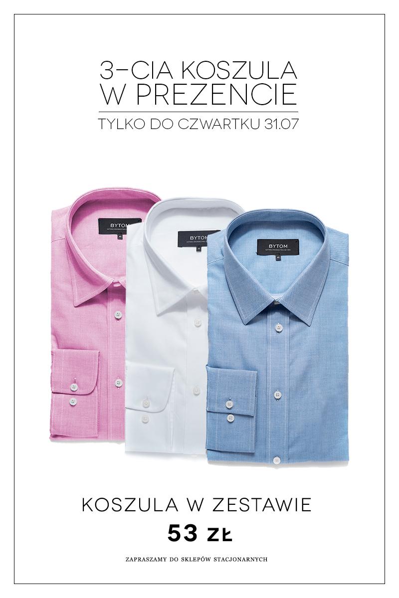 3 koszule w cenie 2 @ Bytom