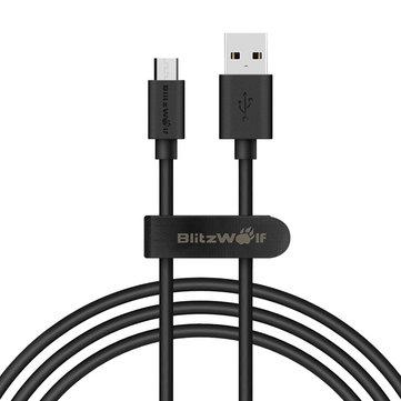 Kabel BlitzWolf® BW-CB7 2.4A 3.33ft/1m Micro USB 2,69$
