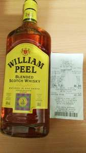 Whisky William Peel 1L Lidl