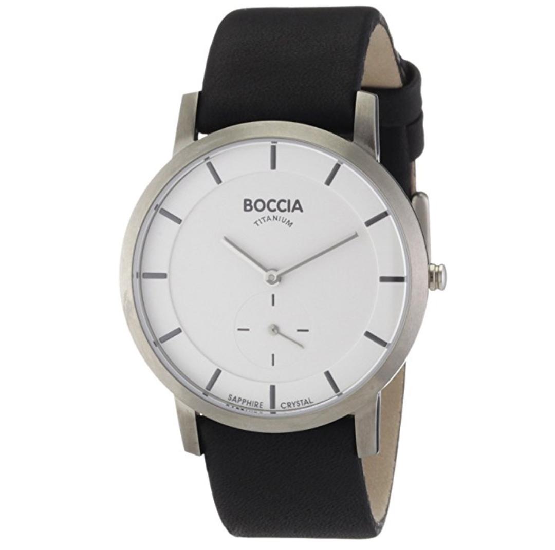 Zegarek BOCCIA szafirowe szkło i tytanowa koperta za 43,59 €