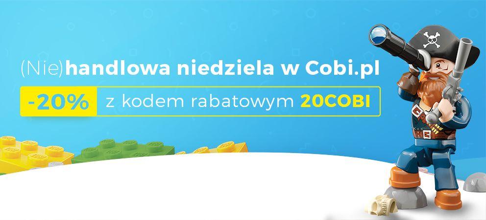20% obniżka na zakupy (klocki, zabawki) w sklepie COBI.PL