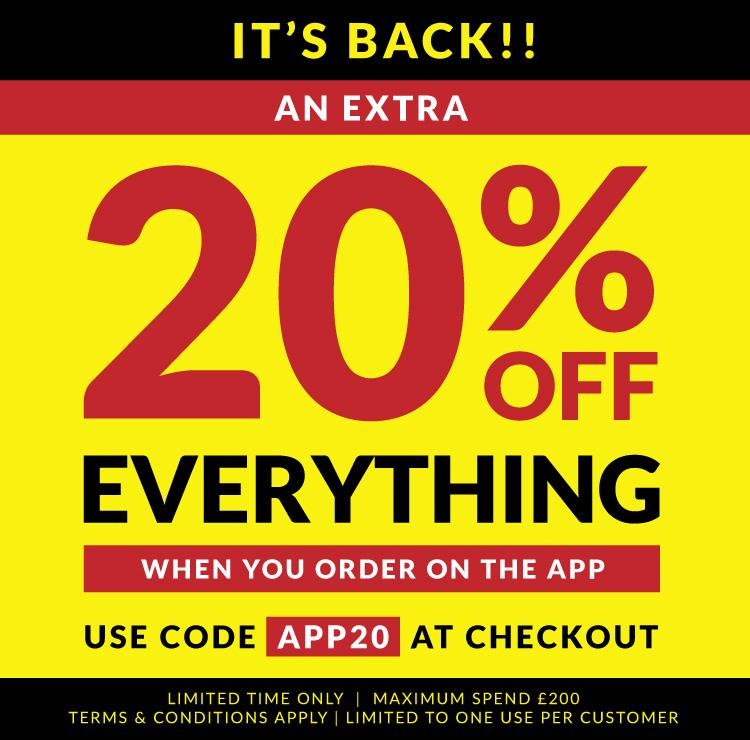 20% off SportsDirect APP