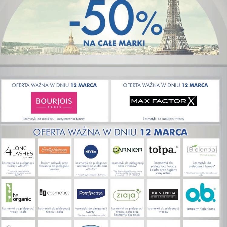 50% na wybrane marki w Super-Pharm