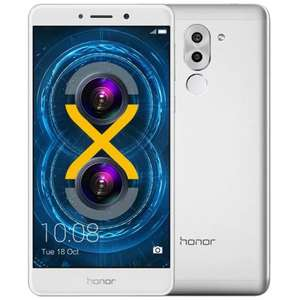 Huawei Honor 6X 4G Phablet Global Version  -  SILVER 3GB RAM 32GB ROM 12.0MP
