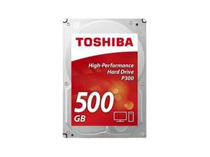 "Dysk Toshiba 500GB 7200obr. 64MB P300 OEM z kodem ""tech-day"""