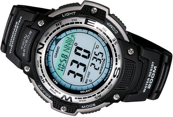 Zegarek Casio SGW-100-1VEF Termometr,Kompas 20ATM WODOSZCELNOŚC
