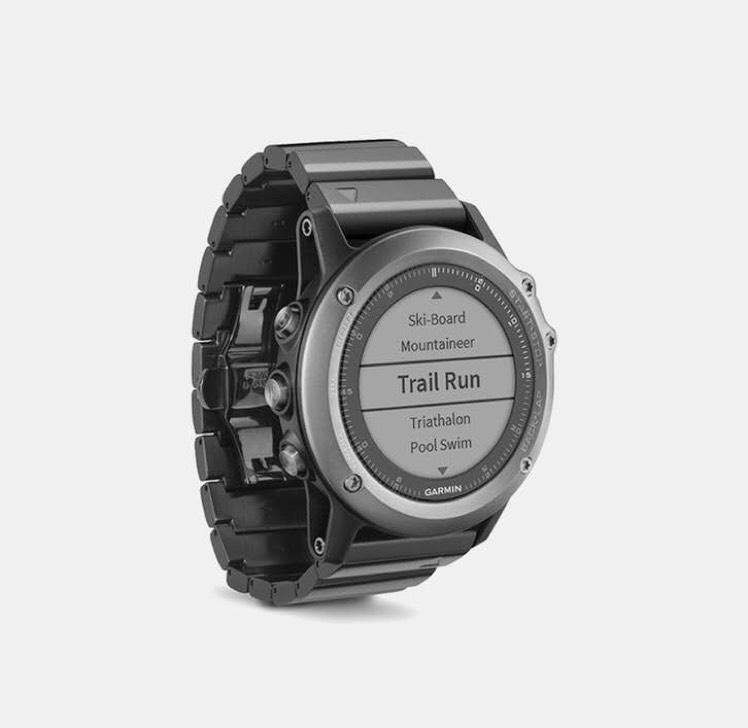 Garmin Fenix 3 Sapphire GPS Watch w/Metal Bandbookmark_border