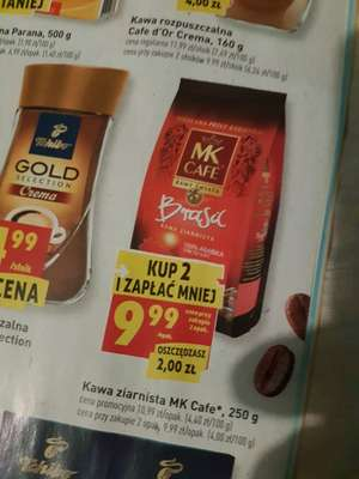 Kawa ziarnista MK Cafe 250g
