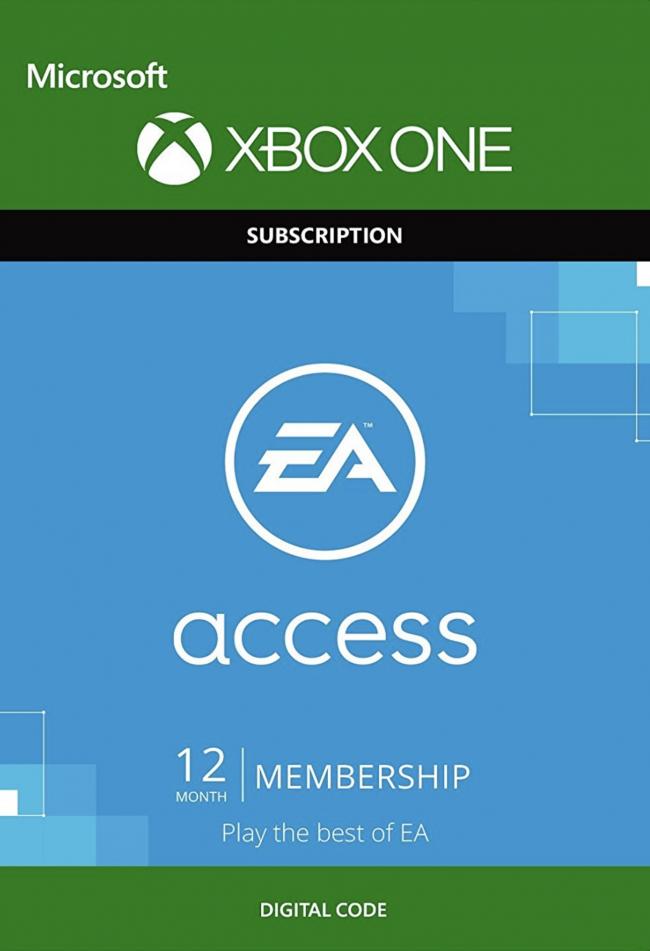 EA Access na Xbox One - dostęp na 12 miesięcy (możliwe obniżenie ceny o 5%)
